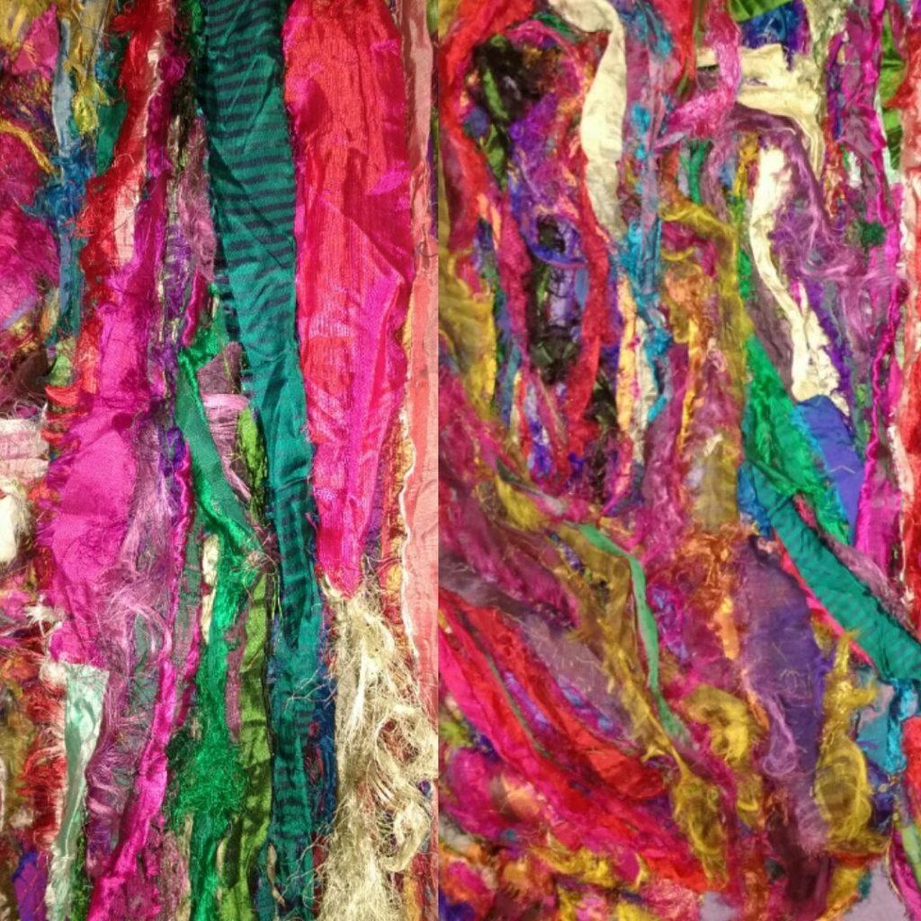 Sari Silk Ribbon Image