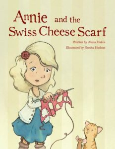 Annie and the Swiss Cheese Scarf Image