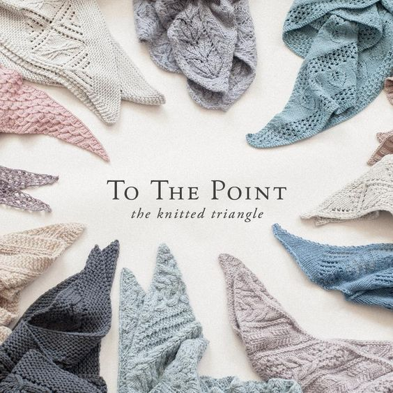 To The Point, the knitted triangle Image